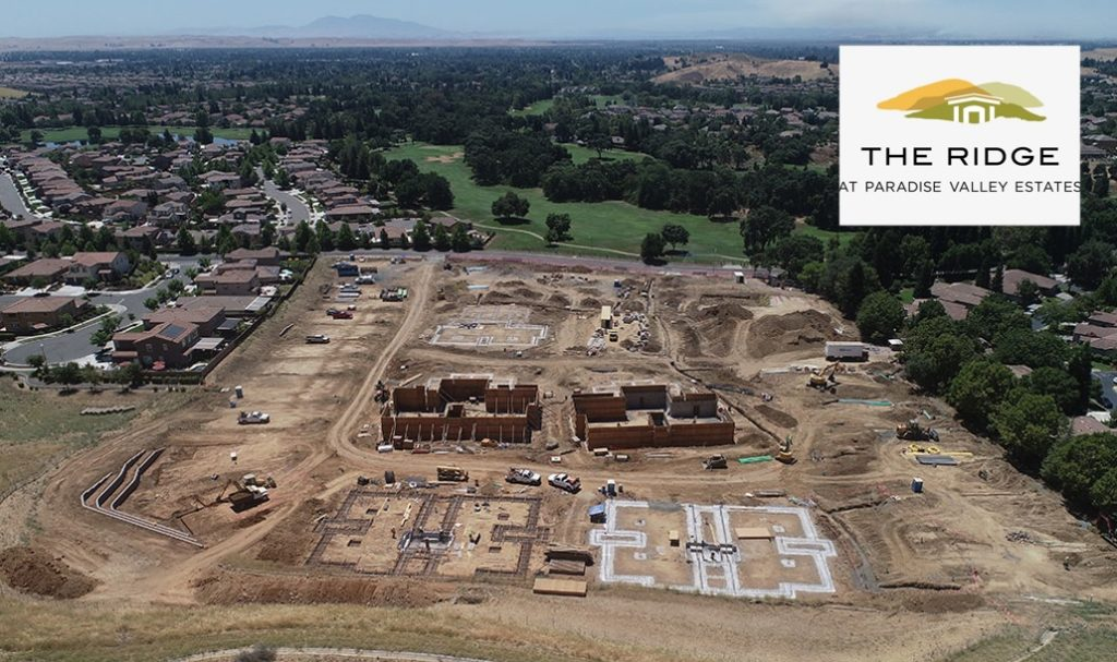 The Ridge at Paradise Valley construction site.