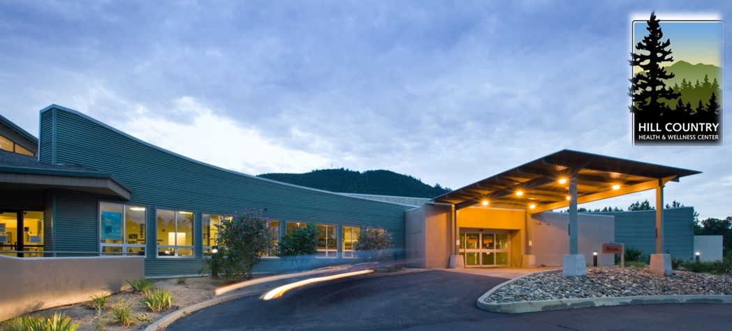 Exterior photo of the Hill Country Community Clinic_Round Mountain
