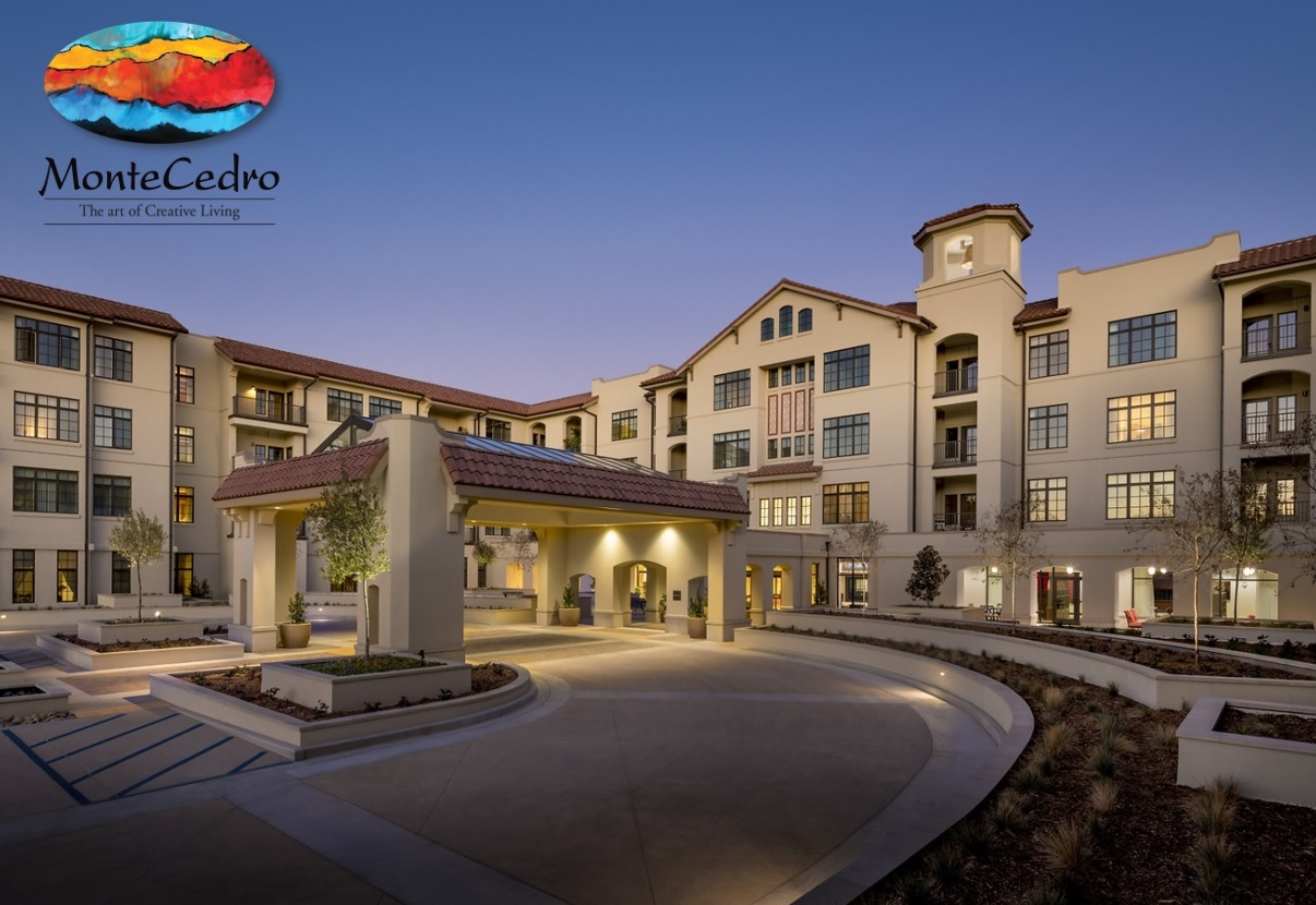Exterior photo of the Montecedro_Recently Completed Senior Living Facility financed by Cal-Mortgage