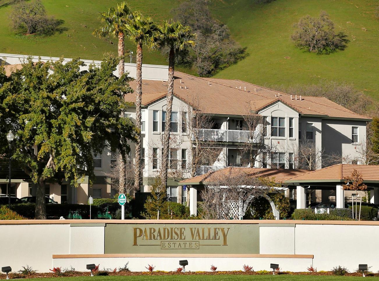 Exterior view of Paradise Valley Estates