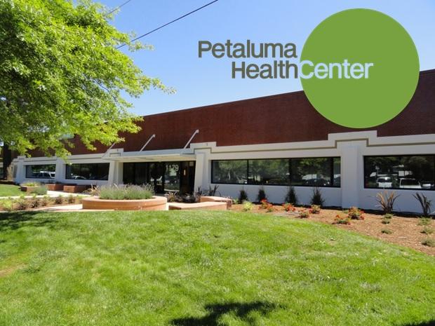 Exterior view of Petaluma Health Center clinic
